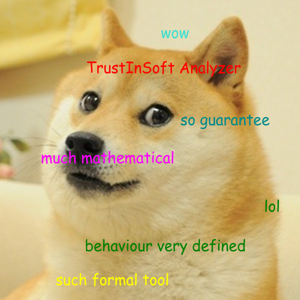 Doge knows what's good!